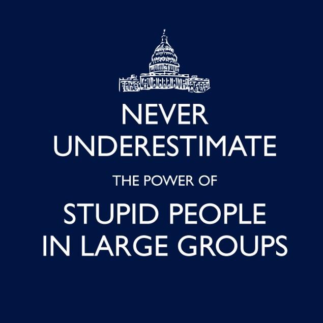 Never Underestimate Large Groups T-Shirt