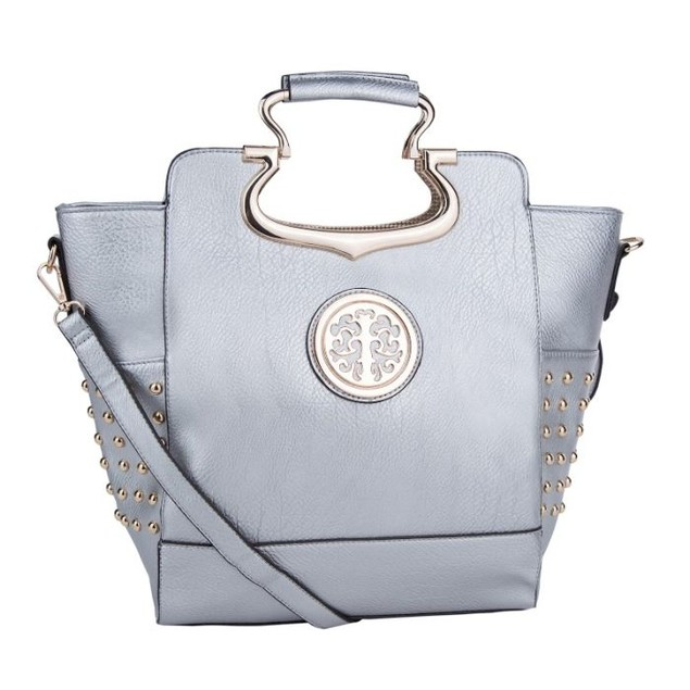 MKF Collection Structured Studd Satchel by Mia K Farrow