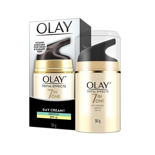 Olay Total Effects 7 in One Day Cream, Gentle, SPF 15, 50g (1.7 oz)