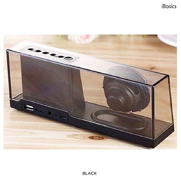 iBasics Clear Acrylic Bluetooth Speaker