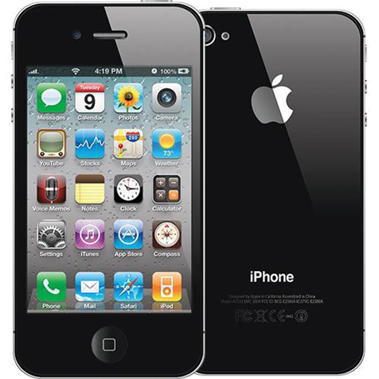 Apple Iphone 4s 8gb Unlocked Black Or White Tanga 4