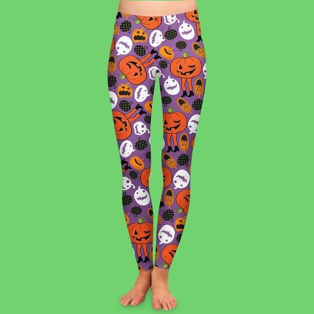 3-Pack Halloween Special Premium Wicked Cool Women's Leggings