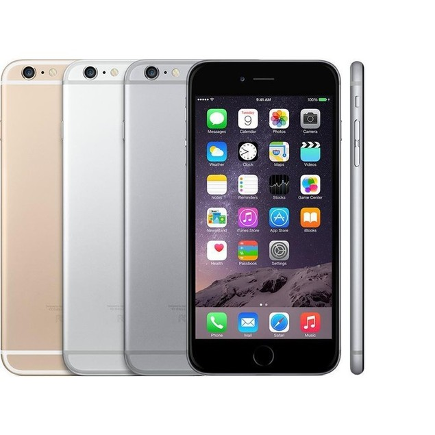 Apple iPhone 6 Plus (16GB or 64GB, AT&T or Verizon, Black/White/Gold)