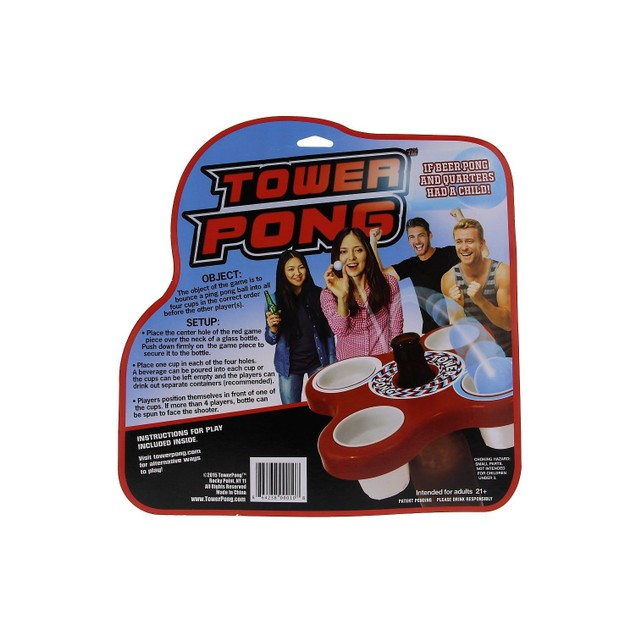 Tower Pong Party Game