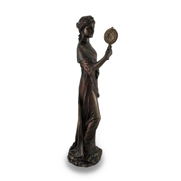 Cardinal Virtue Prudence Bronze Finished Statue Statues
