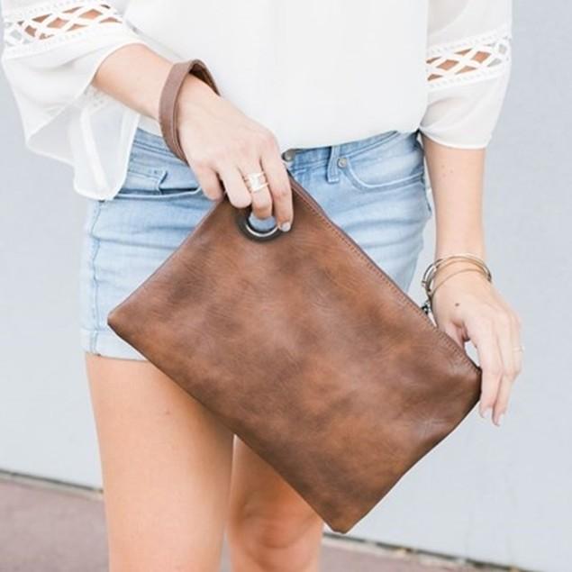 Versatile Envelope Clutch Handbag