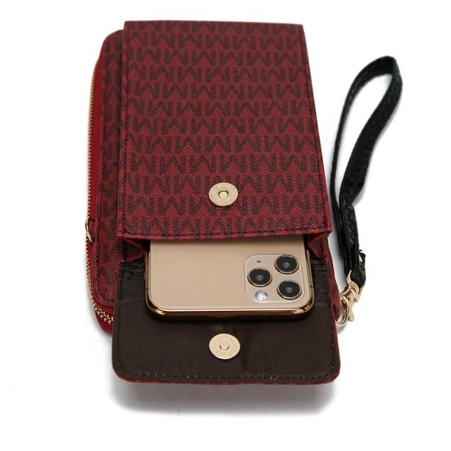 MKF Collection Mala Phone Wallet Crossbody by Mia K.