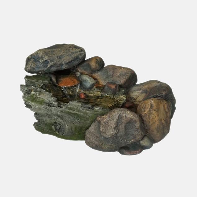 Pure Garden Cascading Stone Fountain
