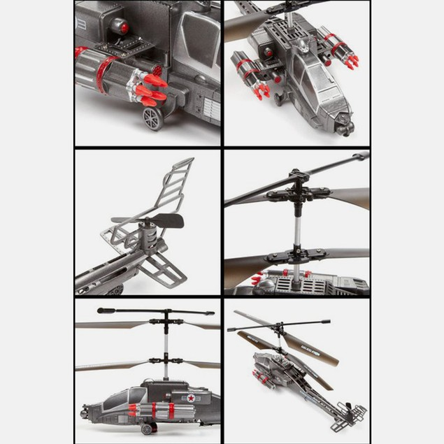 Missile Shooting GYRO Missile Storm 3.5CH Electric RTR RC Helicopter