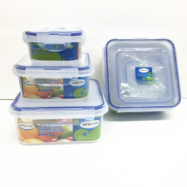 Plastic Food Container Sets