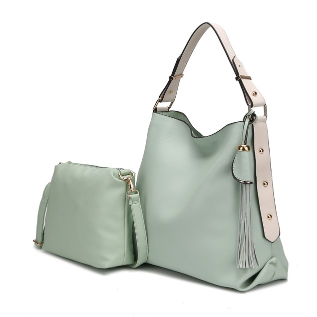 MKF Collection Rosetta Hobo with Crossbody Bag by Mia K.