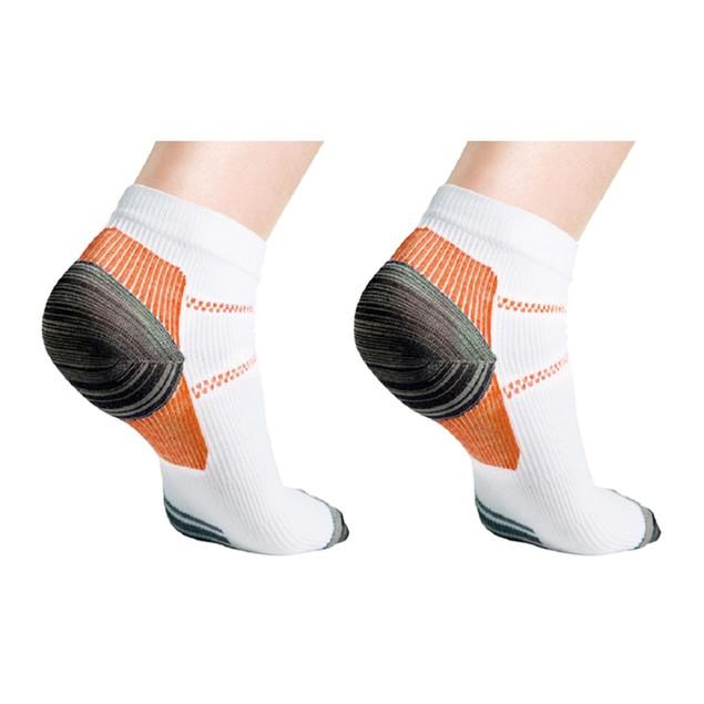 Unisex Ankle Compression Socks - Multiple Pack Options