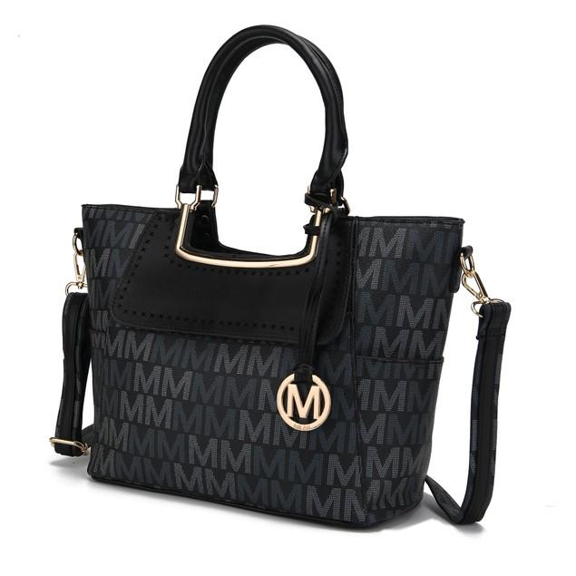 Mia K. Collection Dia Signature Satchel Bag