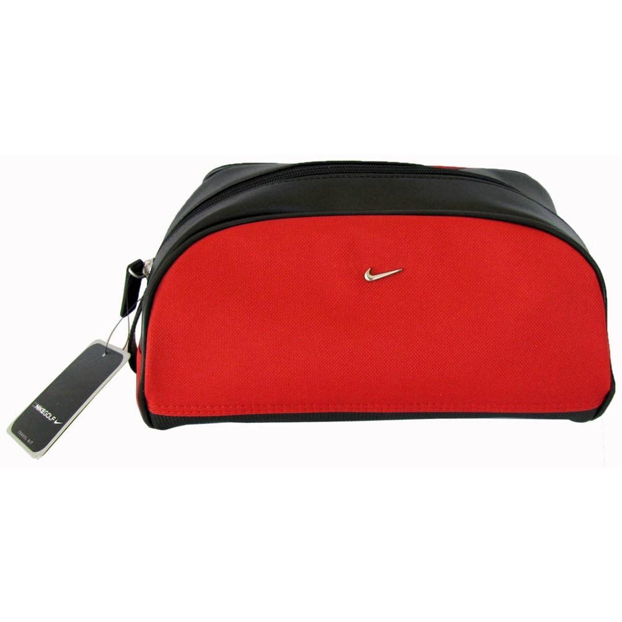 56ec0e25c687 Nike Golf P1400 Red Travel Toiletry Bag - Tanga