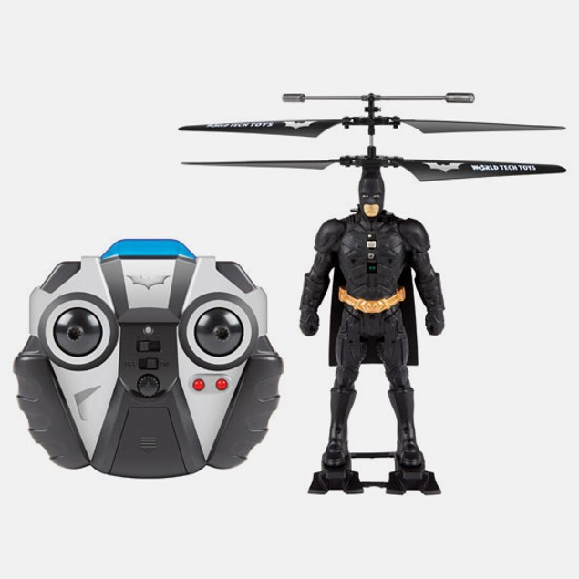 DC Comics World Tech Batman 3.5CH RC Helicopter
