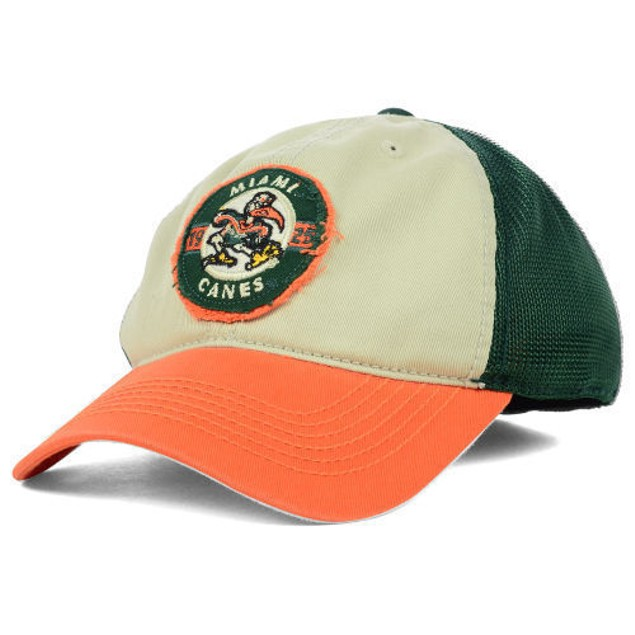 """Miami Hurricanes NCAA TOW """"Honors Flex"""" Stretch Fitted Hat"""