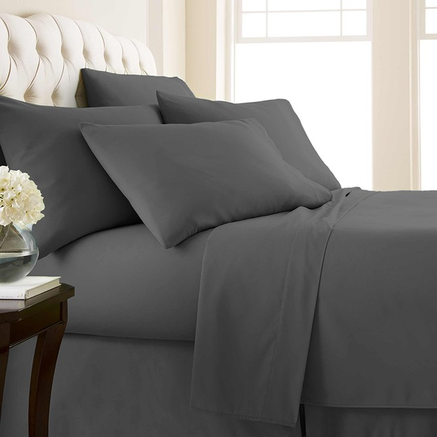 Vilano Spring 6-Piece Extra Deep Pocket Sheet Set by SouthShore Fine Linens