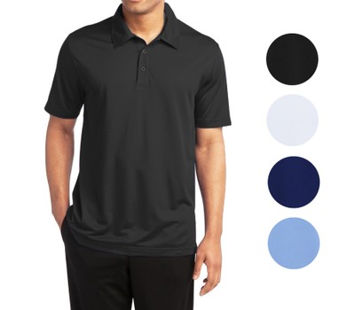 3-Pack Men's Dry Fit Moisture-Wicking Polo Shirt Was: $59.99 Now: $22.99.