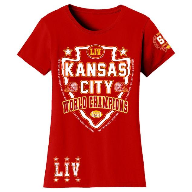 Women's Awesome KC Football Champions Shirts