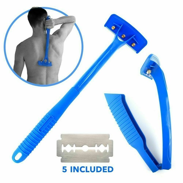 Back Hair Removal and Body Shaver (DIY)