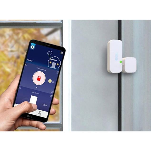 MiLocks Smart Lock, Hub & Sensor Bundle (Control Lock From Anywhere)