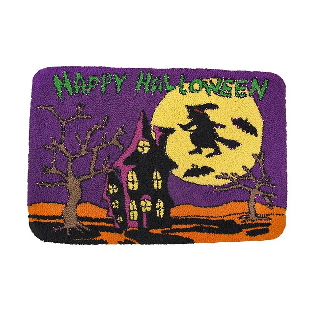 Happy Halloween Light Up Indoor Mat Floor Comfort Mats
