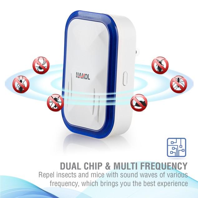 4-Pack Ultrasonic Pest Repeller Plug-in - Brand New 2019 Version