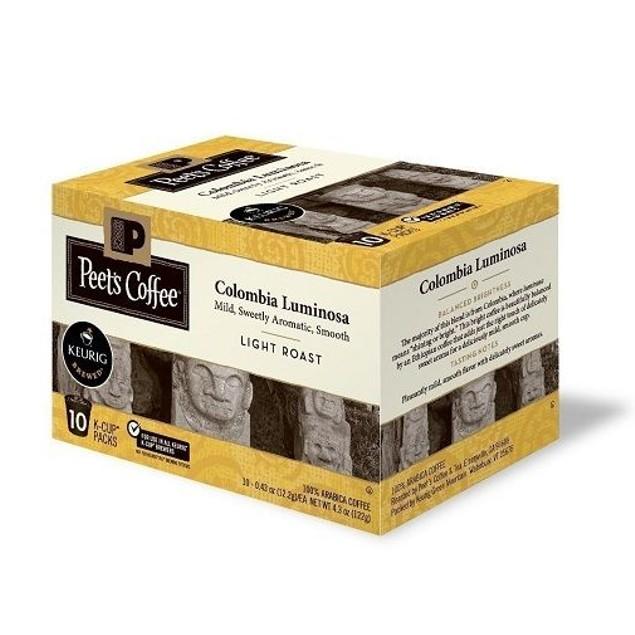 Peet's Coffee Colombia Luminosa Keurig K-Cups