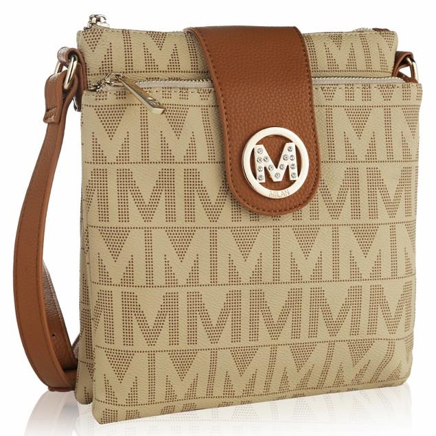 MKF Collection Denizli Milan M Signature Crossbody Bag by Mia K