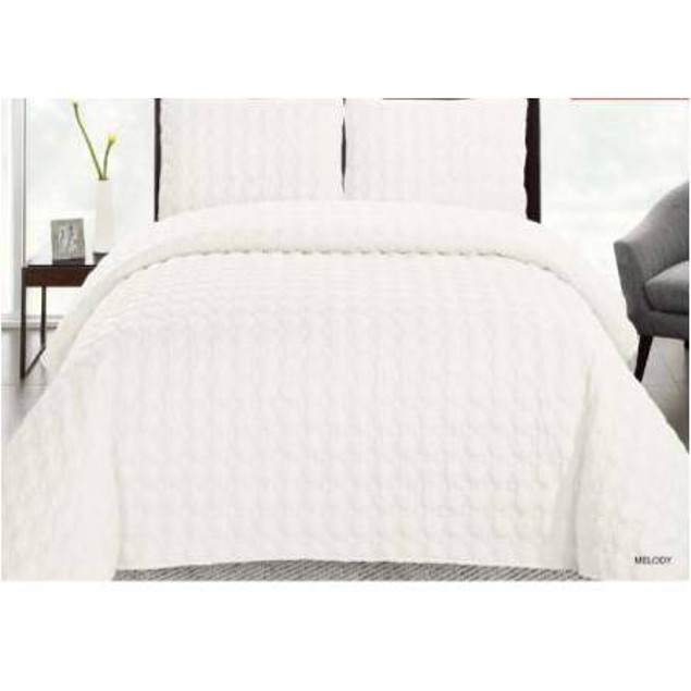 3 PIECE PINSONIC REVERSIBLE PINSONIC QUILTS