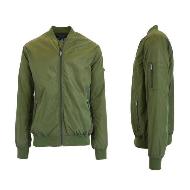 Men's Hooded Lightweight Windbreaker Jackets