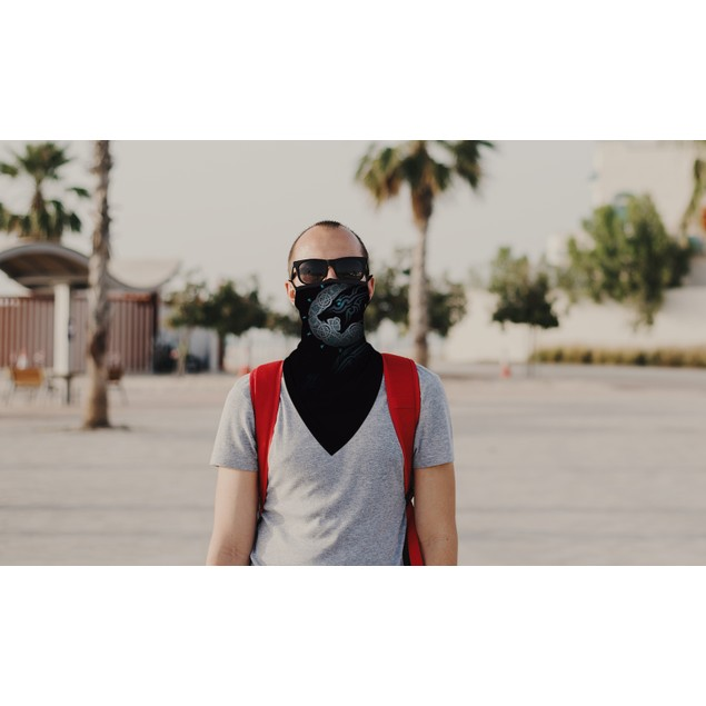 Halloween Balaclava Face Mask Neck Gaiter with Earloop For Men and Women