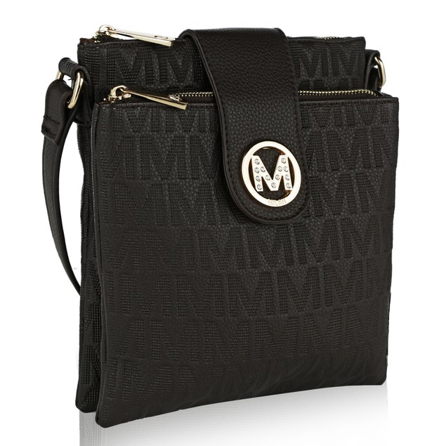 MKF Collection Marietta M Signature Crossbody Bag by Mia K. Farrow