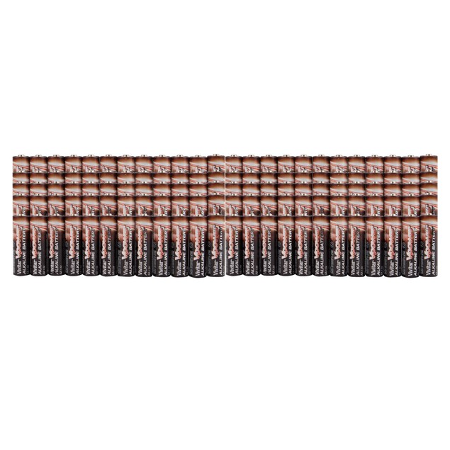 Vivitar 100-Pack AA/AAA Ultra Max High Power Alkaline Batteries