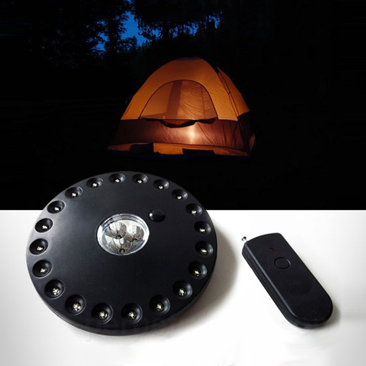 Eddie Bauer Camping Tent Light with Remote Control - Tanga