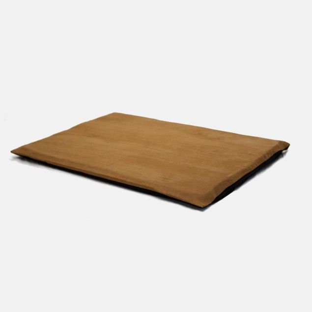 """PAW 2"""" Orthopedic Foam Pet Bed - Suede Camel"""