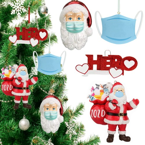 2020 Quarantine Christmas Hanging Ornament (4-Styles)