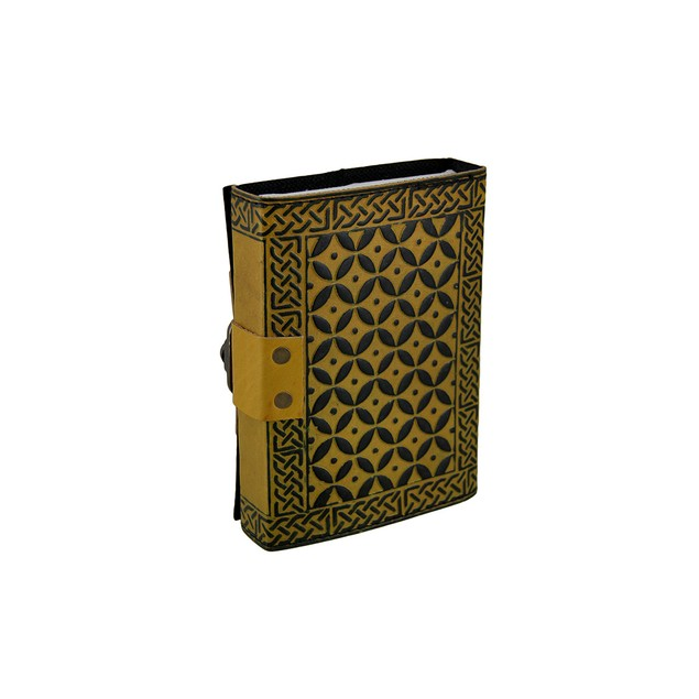 Tree Of Life Two-Tone Embossed Leather Bound Art Sketchbooks And Notebooks
