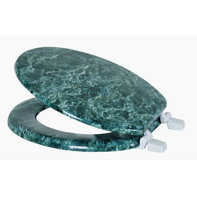 Marble Print Toilet Seats