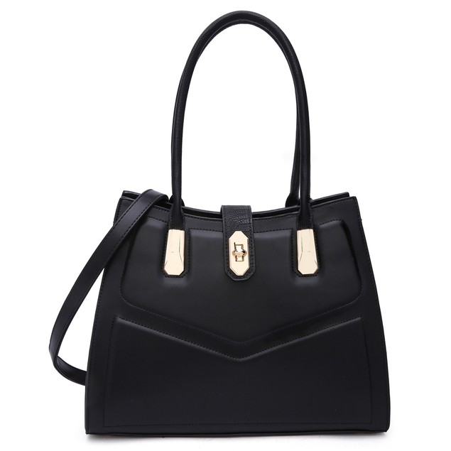 MKF Collection Posh Satchel Bag by Mia k Farrow