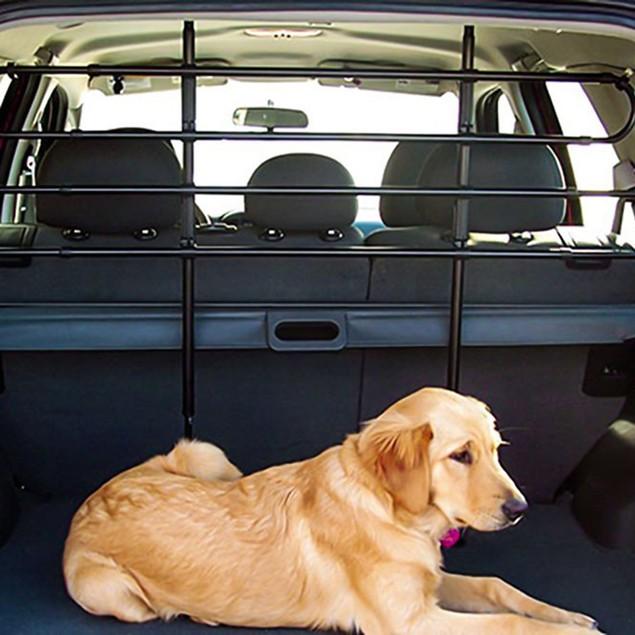 Zone Tech Pet Barrier Car SUV Adjustable Divider Bar