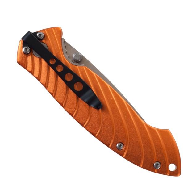 AL Handle Satin Blade Pocket Knife