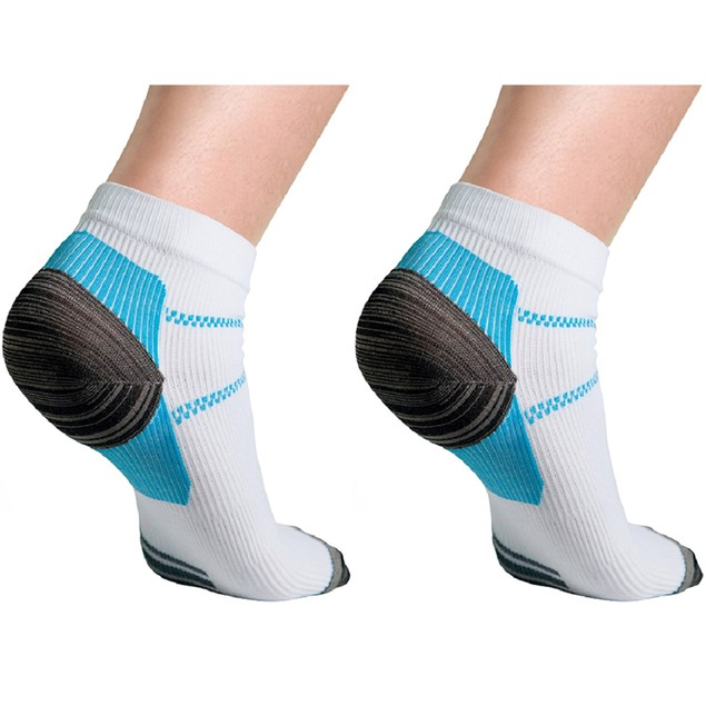 6 Pairs: Unisex Compression Socks for Plantar Fasciitis