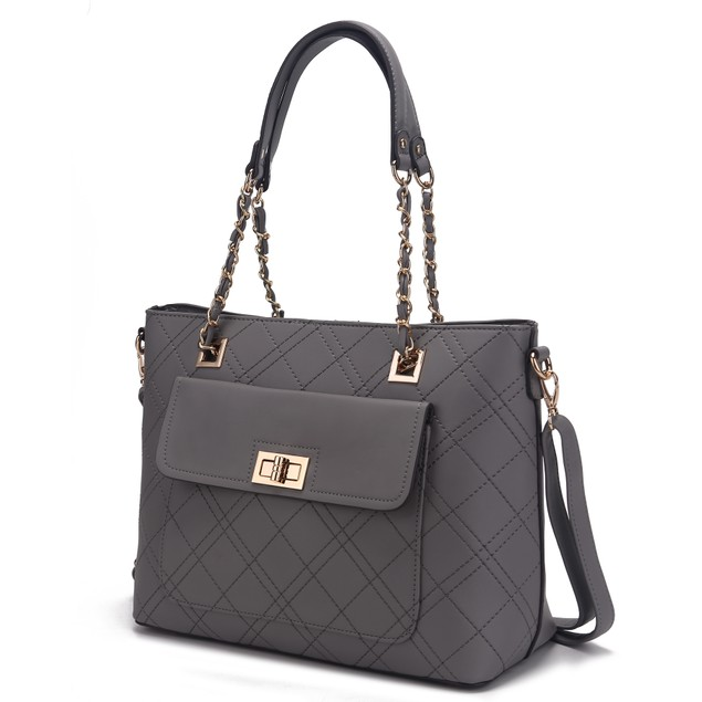 MKF Collection Emilia Quilted Tote Bag by Mia K.