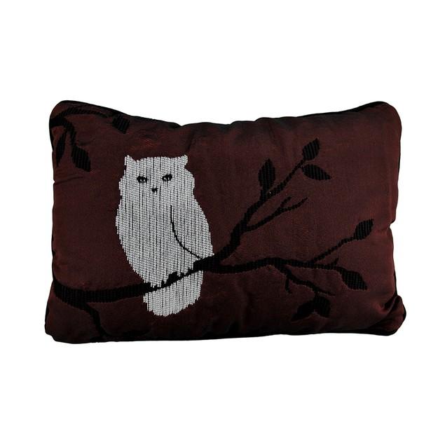 Beautiful Autumn Theme Night Owl Throw Pillow 18 X Throw Pillows