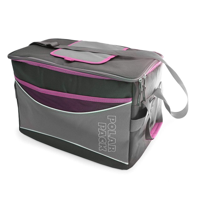 Polar Pack Extra Large 48 Can Insulated Collapsible Cooler Bag - 4 Colors