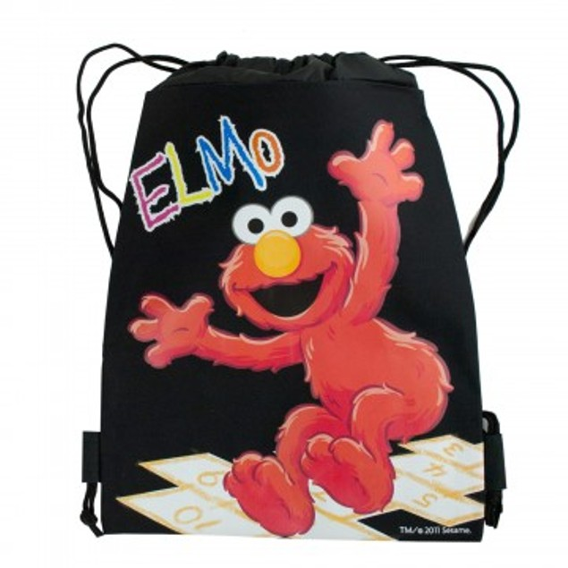 Sesame Street Elmo Cinch Backpack