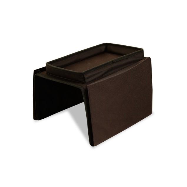 5-Pocket Arm Chair Organizer w/ Arm Rest Tray
