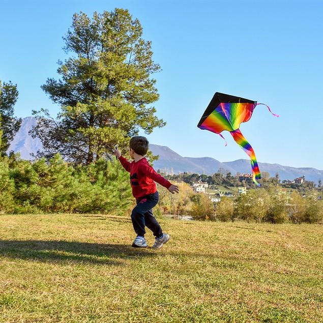 BritenWay Extra Large Rainbow Kite