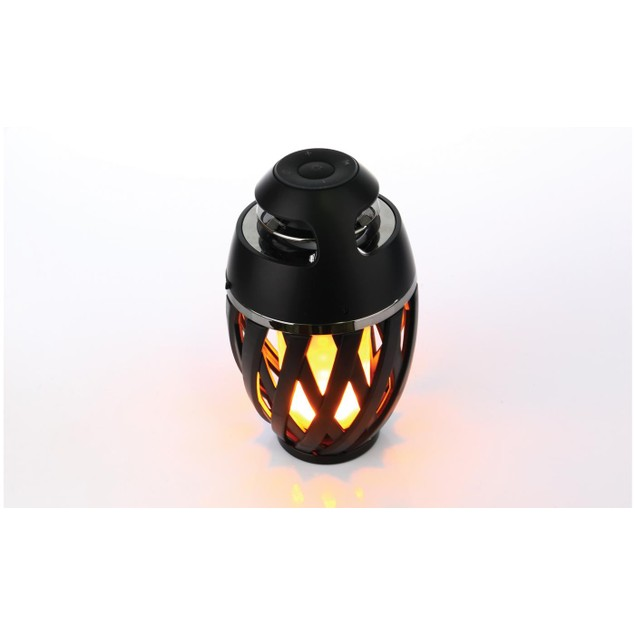 Margaritaville Bluetooth LED Flame Tiki-Torch Speaker with 3-Foot Pole